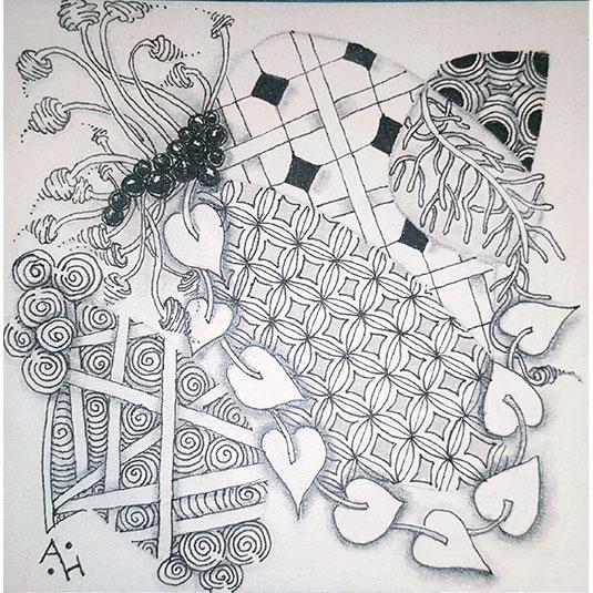 Bales Florz Hollibaugh Pokeleaf Printemps Verdigogh Zinger  Artist: Amanda Higbee