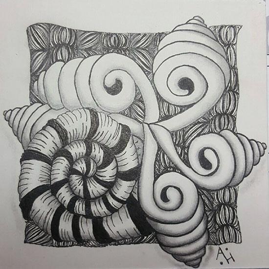 Marasu Springkle Yincut  Artist: Amanda Higbee