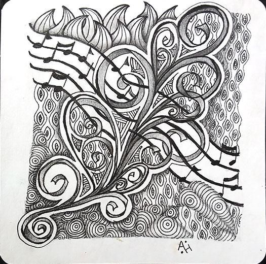 Baton Hypnotic Lobellia Melody Pilla Zailz  Artist: Amanda Higbee