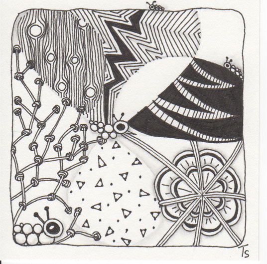 Doodle Bugs Drupe Floating Disks Lightning Bolt Kathy's Dilemma Nipa Pendrills