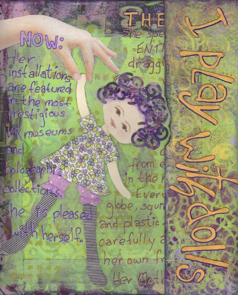 Doll Journal Cover