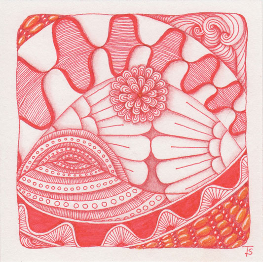 Aura-Leah Deco Border Drack Echo Lines Flora Mumsy Purk Trio